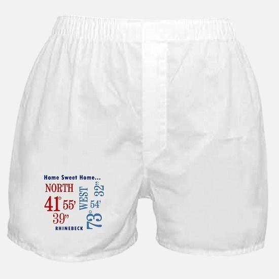 Rhinebeck Coordinates red & b Boxer Shorts