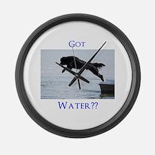 Got Water?? Large Wall Clock