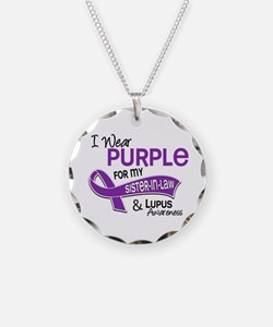 I Wear Purple 42 Lupus Necklace