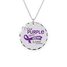 I Wear Purple 42 Lupus Necklace