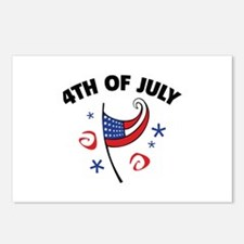 4th Of July Postcards (Package of 8)