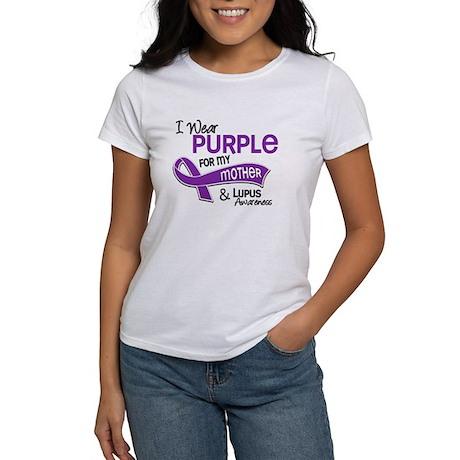 I Wear Purple 42 Lupus Women's T-Shirt