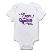 I Wear Purple 42 Lupus Onesie