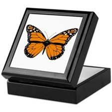 Butterfly (Drawing) Keepsake Box