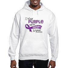 I Wear Purple 42 Lupus Hoodie