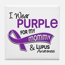 I Wear Purple 42 Lupus Tile Coaster