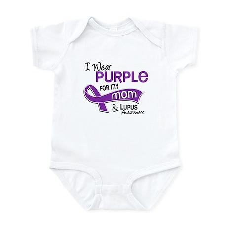 I Wear Purple 42 Lupus Infant Bodysuit