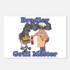 Grill Master Bradley Postcards (Package of 8)