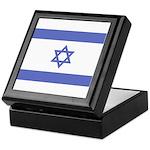 Israeli Flag Keepsake Box