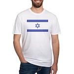 Israeli Flag Fitted T-Shirt