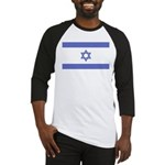 Israeli Flag Baseball Jersey