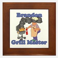 Grill Master Brandon Framed Tile