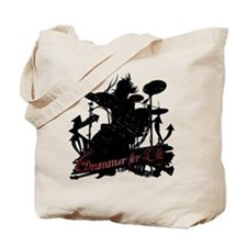 drummer-for-life.gif Tote Bag