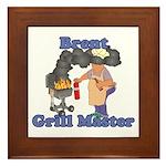 Grill Master Brent Framed Tile