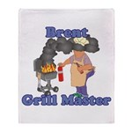 Grill Master Brent Throw Blanket
