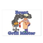 Grill Master Brent Postcards (Package of 8)