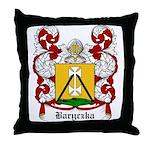 Baryczka Coat of Arms Throw Pillow