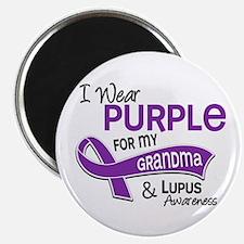 "I Wear Purple 42 Lupus 2.25"" Magnet (100 pack)"