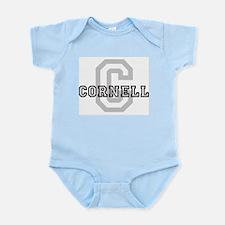Cornell (Big Letter) Infant Creeper