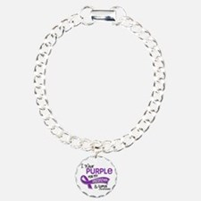 I Wear Purple 42 Lupus Bracelet