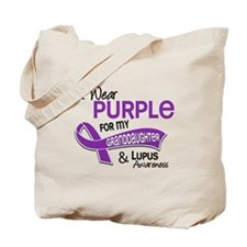 I Wear Purple 42 Lupus Tote Bag