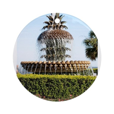Charleston SC Waterfront Park Ornament (Round)