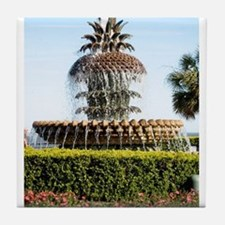 Charleston SC Waterfront Park Tile Coaster