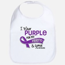 I Wear Purple 42 Lupus Bib