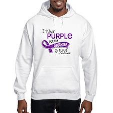 I Wear Purple 42 Lupus Jumper Hoodie