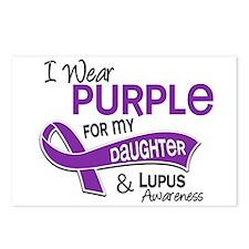 I Wear Purple 42 Lupus Postcards (Package of 8)