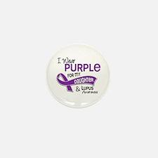 I Wear Purple 42 Lupus Mini Button (10 pack)