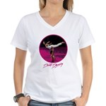 Dirty Dancing Swim Scene Women's V-Neck T-Shirt