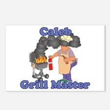Grill Master Caleb Postcards (Package of 8)