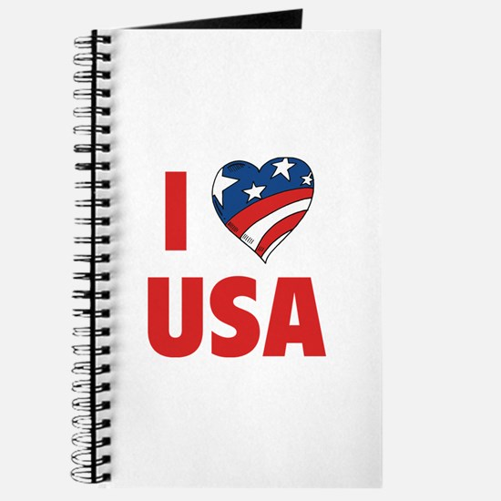 I Love USA Journal