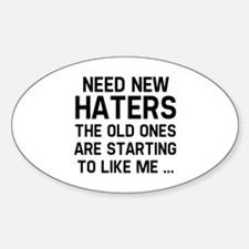 Need New Haters Decal