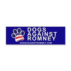Official Dogs Against Romney Paw magnet