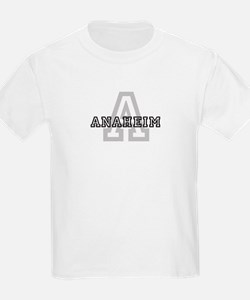 Anaheim (Big Letter) Kids T-Shirt