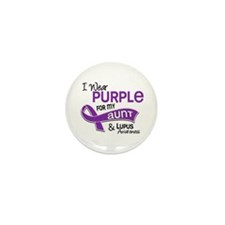 I Wear Purple 42 Lupus Mini Button (100 pack)
