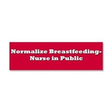 Normalize Breastfeeding Car Magnet 10 x 3