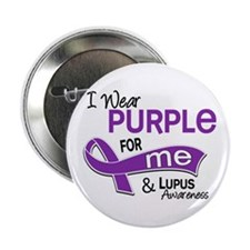 "I Wear Purple 42 Lupus 2.25"" Button"