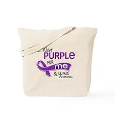 I Wear Purple 42 Lupus Tote Bag