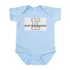 East San Gabriel (Big Letter) Infant Creeper