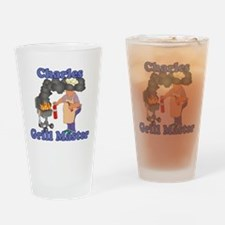 Grill Master Charles Drinking Glass