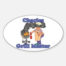 Grill Master Charles Decal
