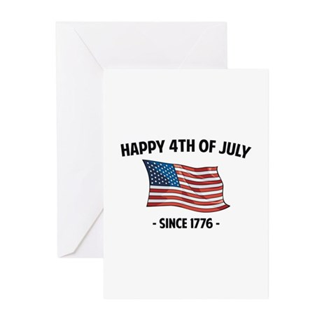 Happy 4th Of July Greeting Cards (Pk of 20)
