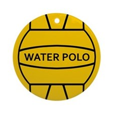 Water Polo Ornament (Round)