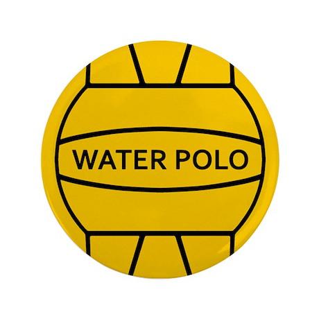 """Water Polo 3.5"""" Button"""