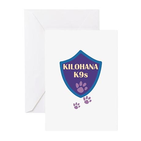 Kilohana K9s Logo Greeting Cards (Pk of 10)