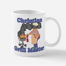 Grill Master Christian Mug