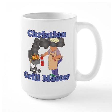 Grill Master Christian Large Mug